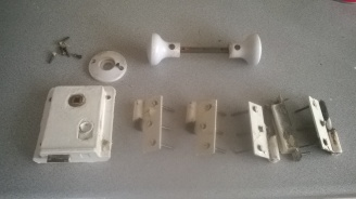 Edwardian door furniture before