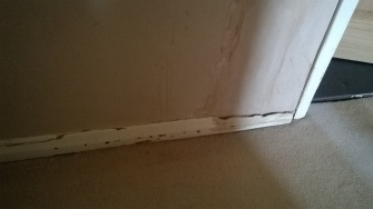 Damaged Skirting board