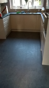Laminate flooring - in kitchen
