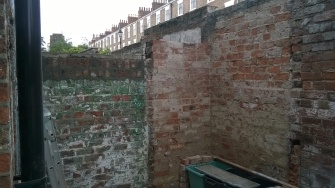 Minor brick work alterations