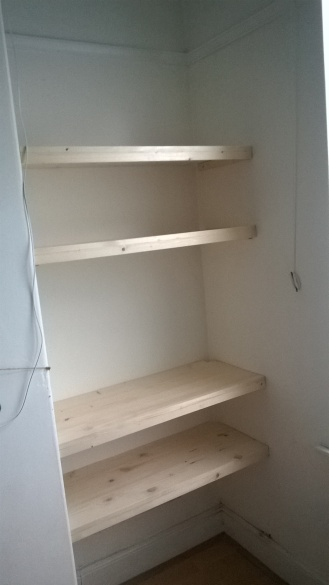 New Pine Shelving